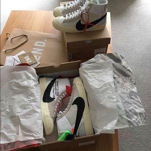 Nike Shoes | Nike Blazer Mid Off White